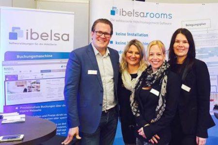 ibelsa Hotelsoftware Blogbeitrag Partnertreffen auf der Alles für den Gast