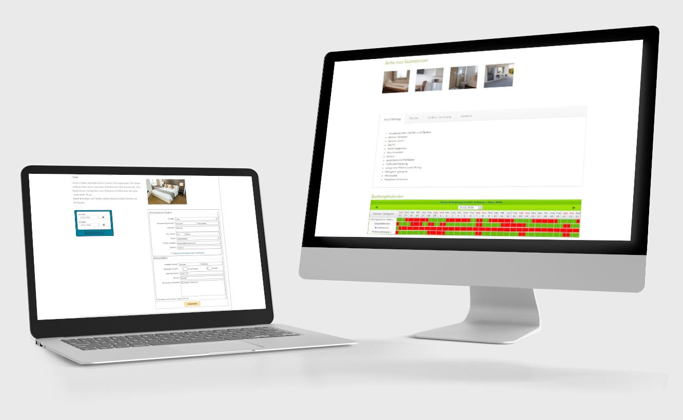 Hotelsoftware Website Buchung
