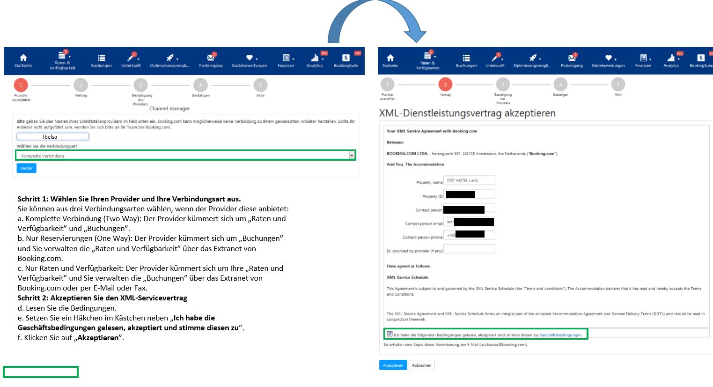 ibelsa Hotelsoftware FAQ Direktanbindung an Booking.com