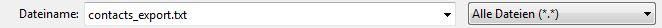 Wie öffne ich einen Kontaktexport im UTF8 Format damit die Umlaute richtig anzeigt werden?