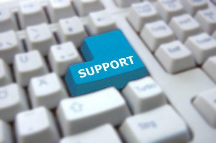Blogbeitrag Unser Support Wir sind für Sie da!