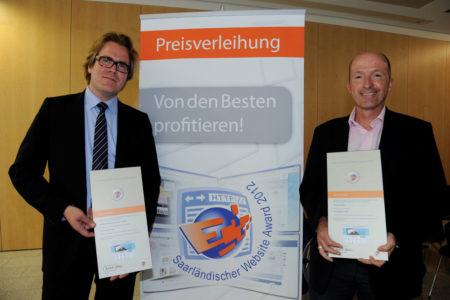 Blogbeitrag ibelsa-Internetseite beim Saarländischen Website Award 2012 mit Bronze ausgezeichnet
